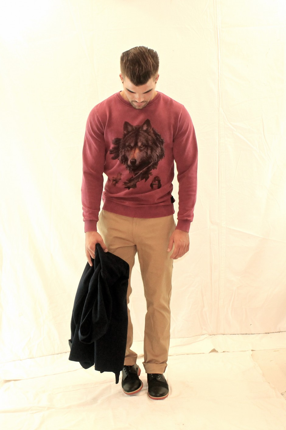 Sweat ANERKJENDT - Pantalon & Caban LA PANOPLIE - Shoes GOOD GUYS