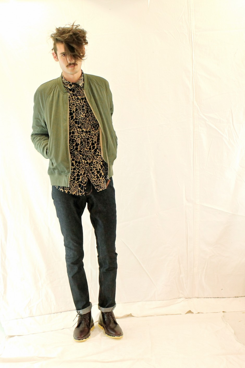 Blouson & Chemise SAMSOE SAMSOE - Jean APRIL 77 - Shoes SWEAR