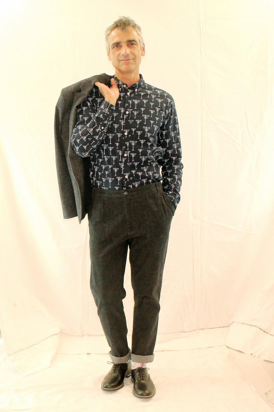 Blazer, Chemise & Pantalon SAMSOE SAMSOE - Derby SWEAR - Chaussettes STANCE